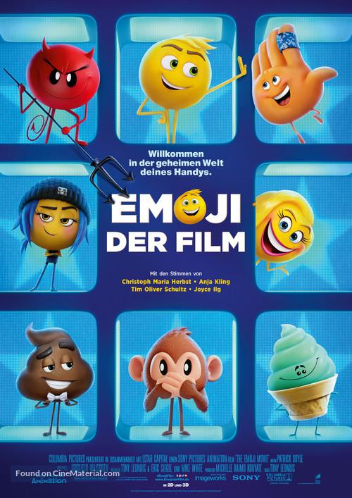 The Emoji Movie - German Movie Poster