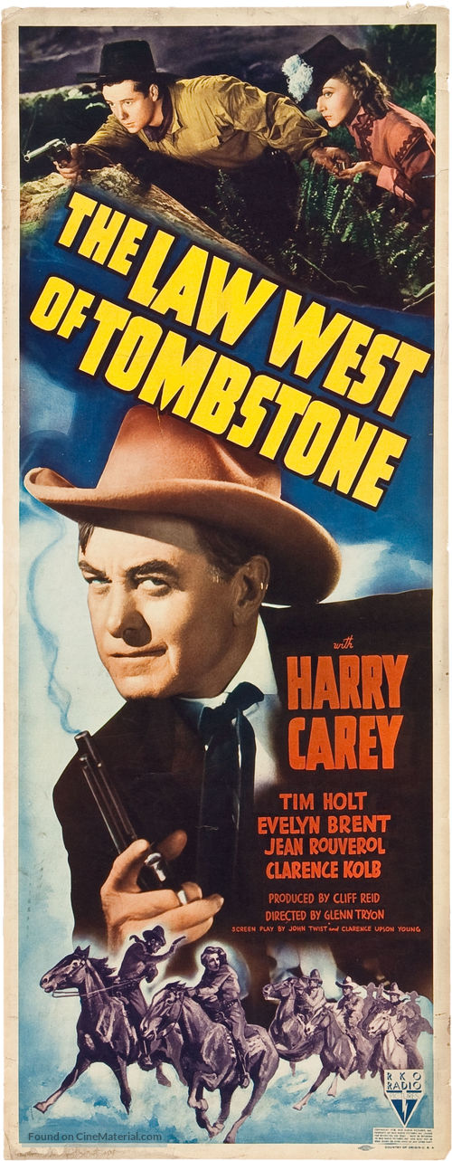 The Law West of Tombstone - Movie Poster