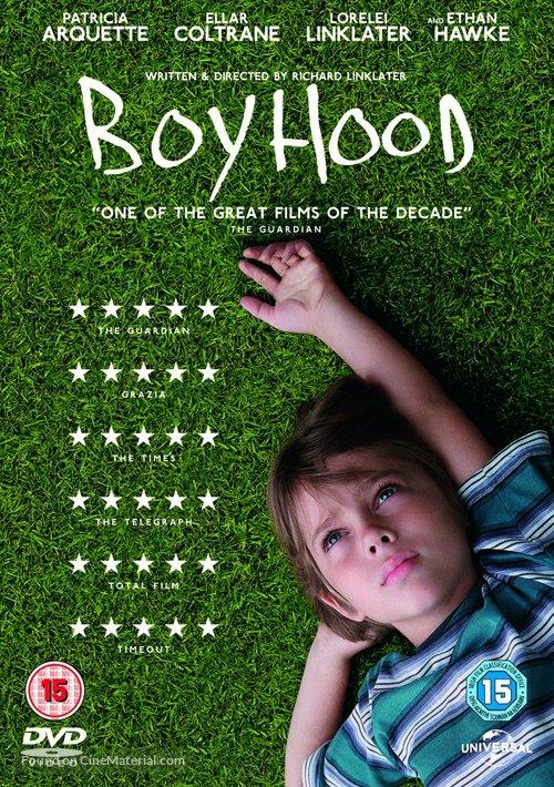 Boyhood - British DVD cover