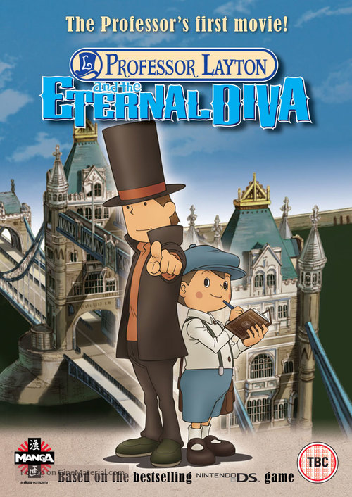 Professor Layton and the Eternal Diva - British Movie Cover