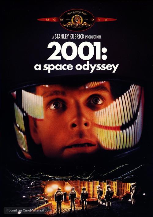 2001: A Space Odyssey - Movie Cover