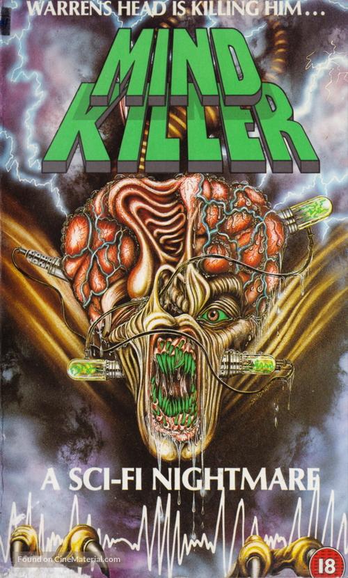 Mindkiller - British VHS movie cover