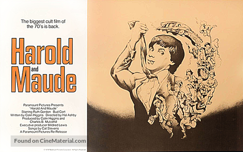 Harold and Maude - Movie Poster