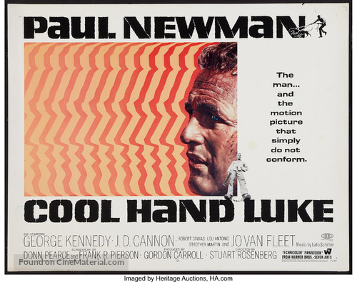 Cool Hand Luke - Movie Poster