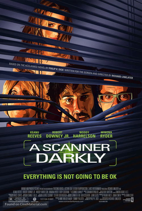 A Scanner Darkly - Movie Poster