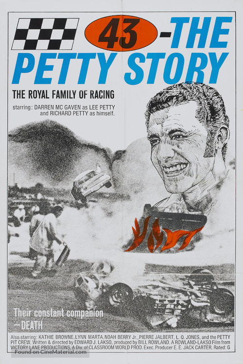 43: The Richard Petty Story - Movie Poster