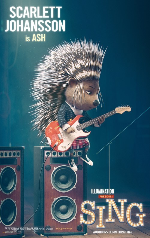Sing - Movie Poster