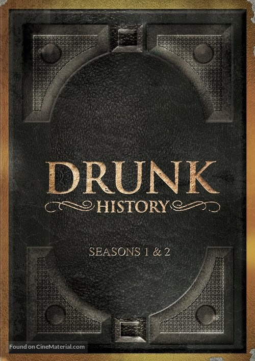 """""""Drunk History"""" - DVD movie cover"""