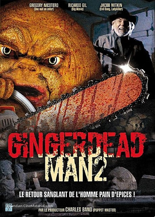 Gingerdead Man 2: Passion of the Crust - French DVD movie cover