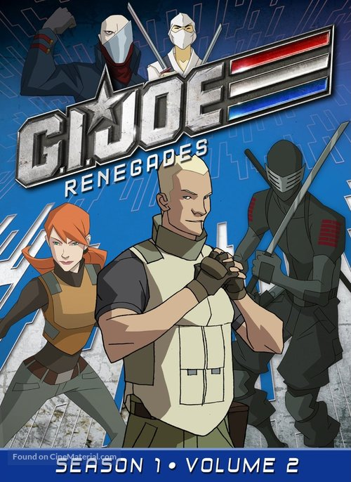 """G.I. Joe: Renegades"" - DVD movie cover"