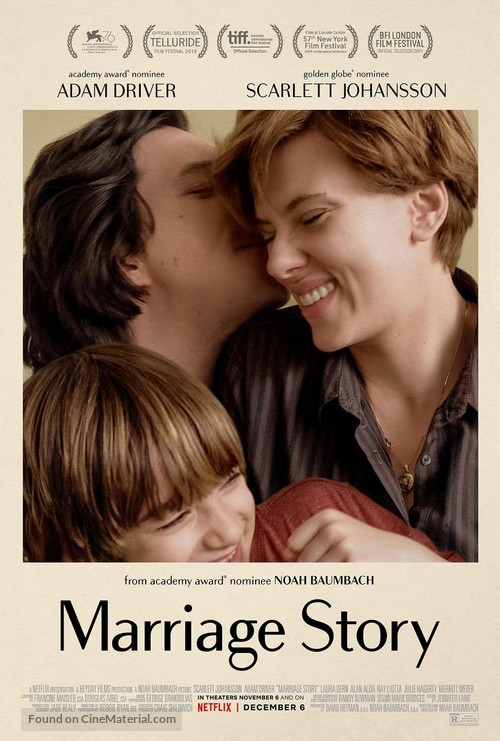 Marriage Story - Movie Poster