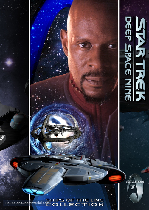 """Star Trek: Deep Space Nine"" - DVD movie cover"
