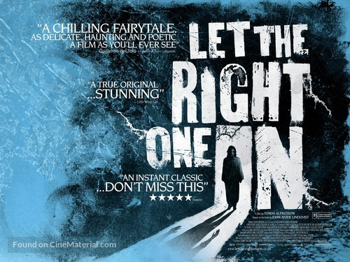 Låt den rätte komma in - Movie Poster