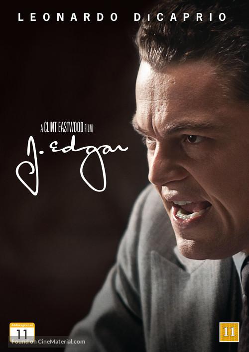 J. Edgar - Danish DVD movie cover