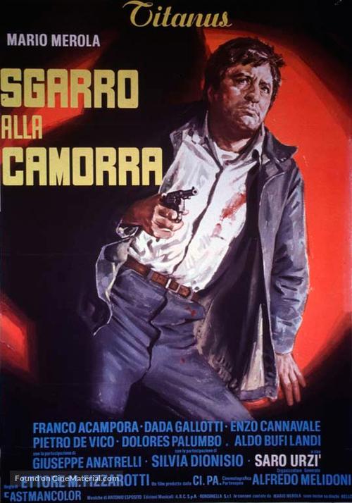 Sgarro alla camorra - Italian Movie Poster
