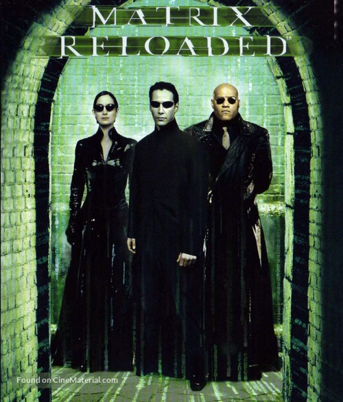 The Matrix Reloaded - French Movie Cover