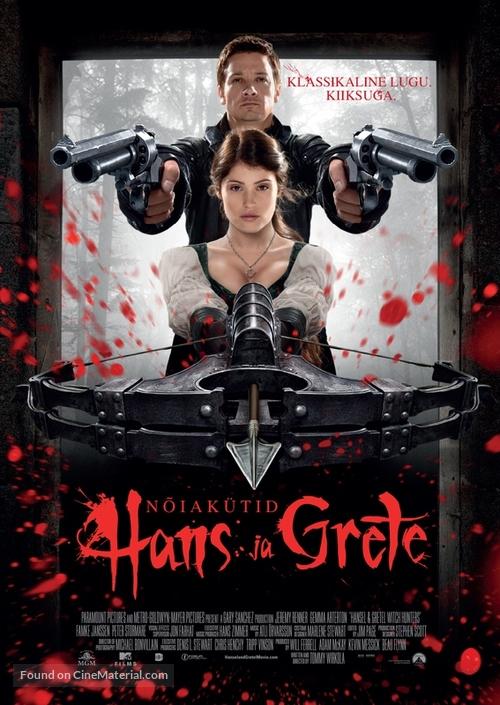 Hansel & Gretel: Witch Hunters - Estonian Movie Poster