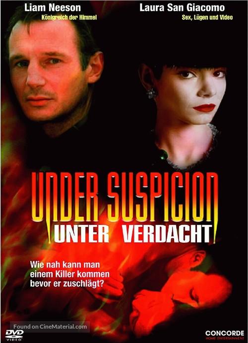 Under Suspicion - German DVD movie cover