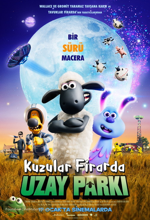 A Shaun the Sheep Movie: Farmageddon - Turkish Movie Poster