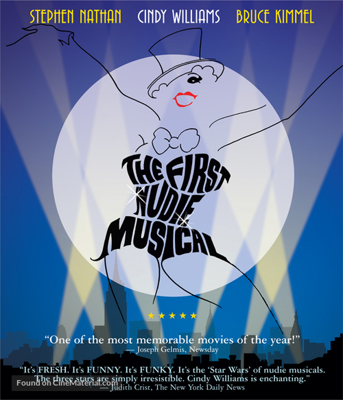 The First Nudie Musical - DVD movie cover