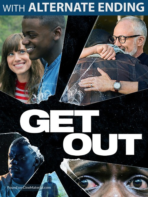 Get Out - DVD movie cover