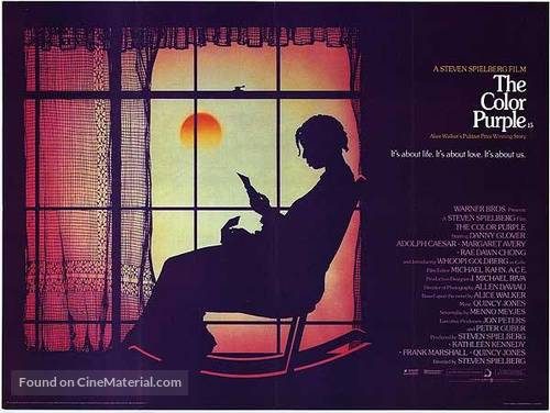 The Color Purple - British Movie Poster