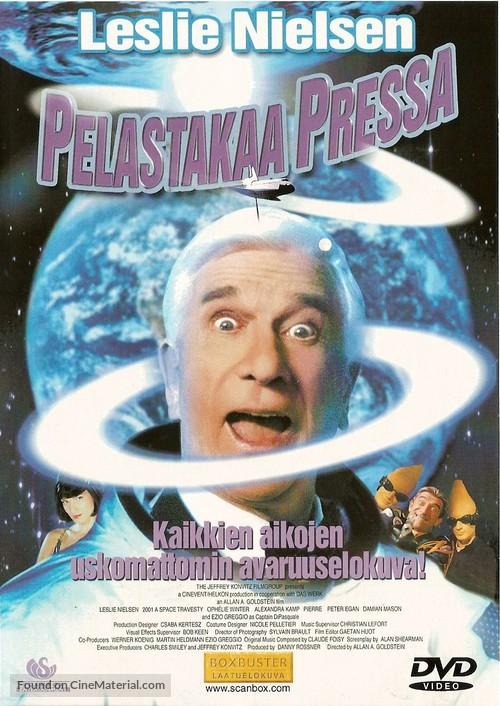 2001: A Space Travesty - Finnish Movie Cover