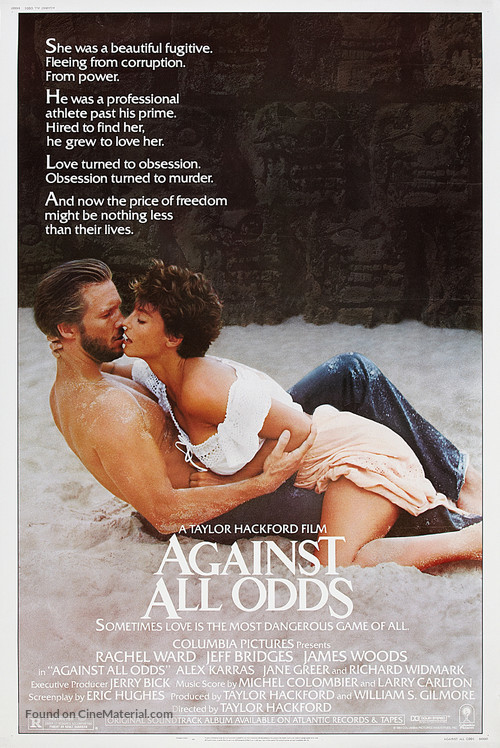 Against All Odds - Movie Poster