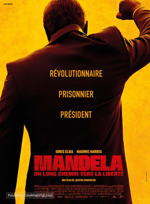 Mandela: Long Walk to Freedom - French Movie Poster
