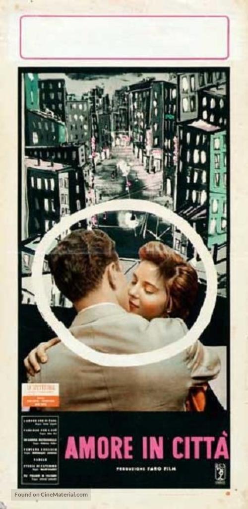 Amore in città, L' - Italian Movie Poster