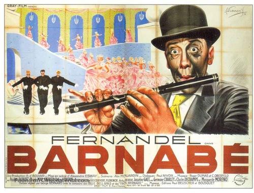 Barnabè - French Movie Poster
