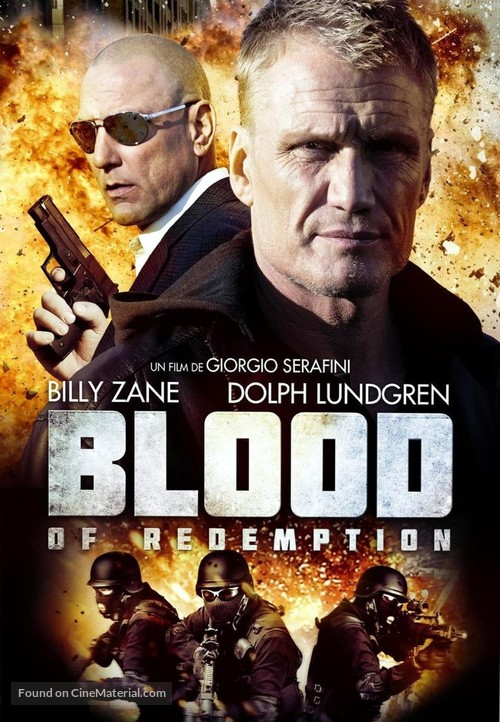 Blood of Redemption - French DVD movie cover