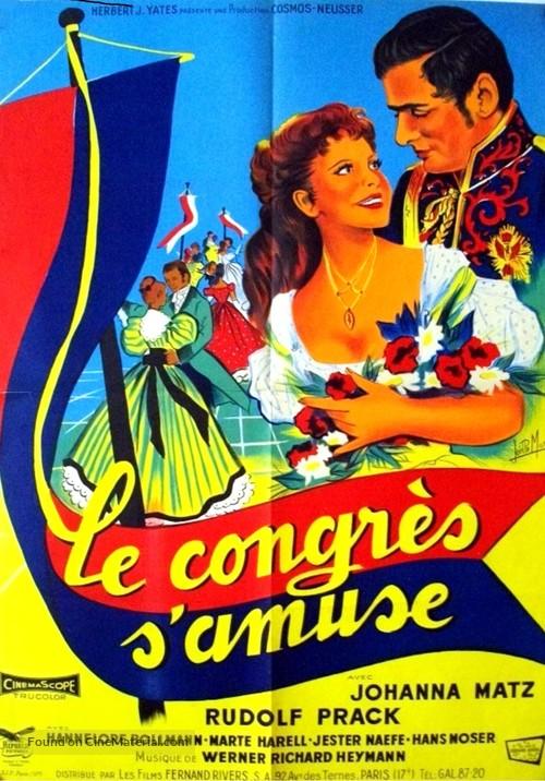 Der Kongreß tanzt - French Movie Poster