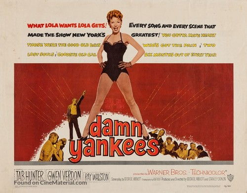 Damn Yankees! - Movie Poster