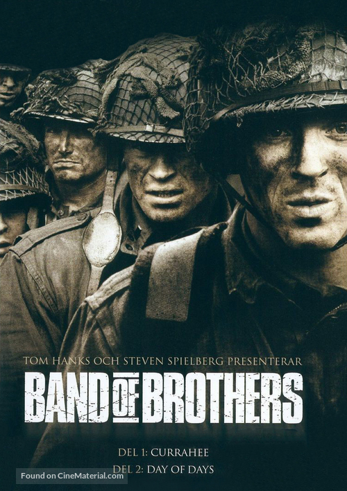 """""""Band of Brothers"""" - Swedish Movie Cover"""