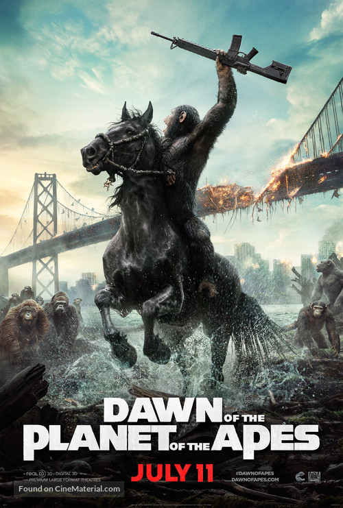 Dawn of the Planet of the Apes - Movie Poster