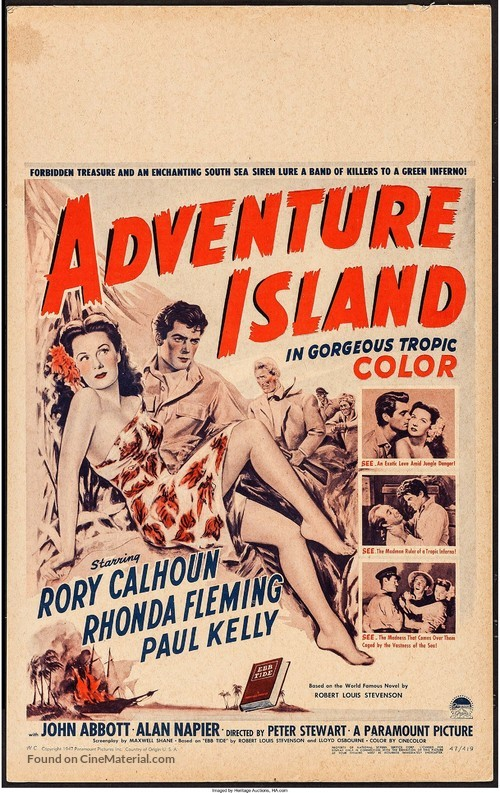 Adventure Island - Movie Poster