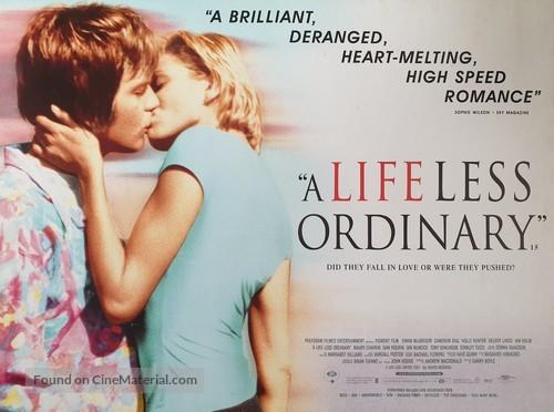 A Life Less Ordinary - British Movie Poster