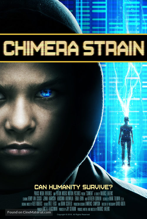 Chimera Strain - Movie Poster