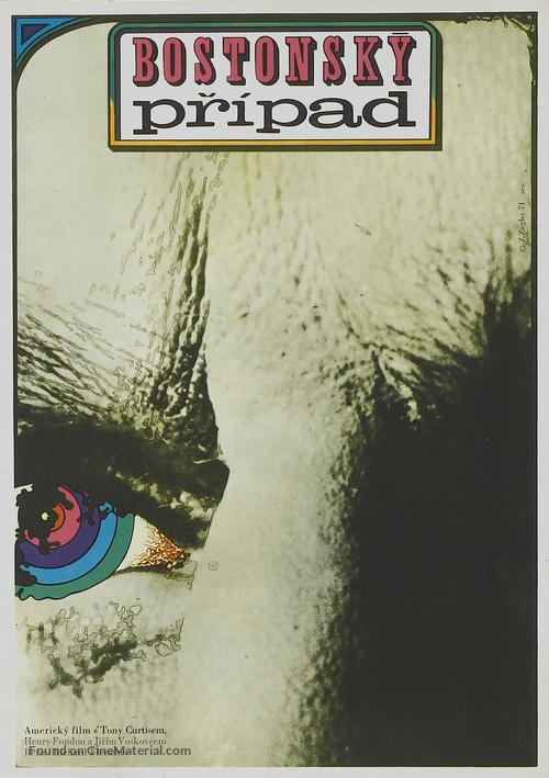 The Boston Strangler - Czech Movie Poster