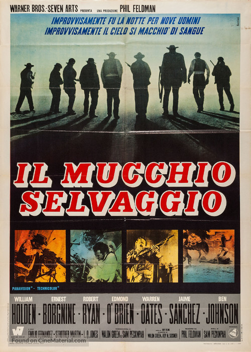 The Wild Bunch - Italian Movie Poster