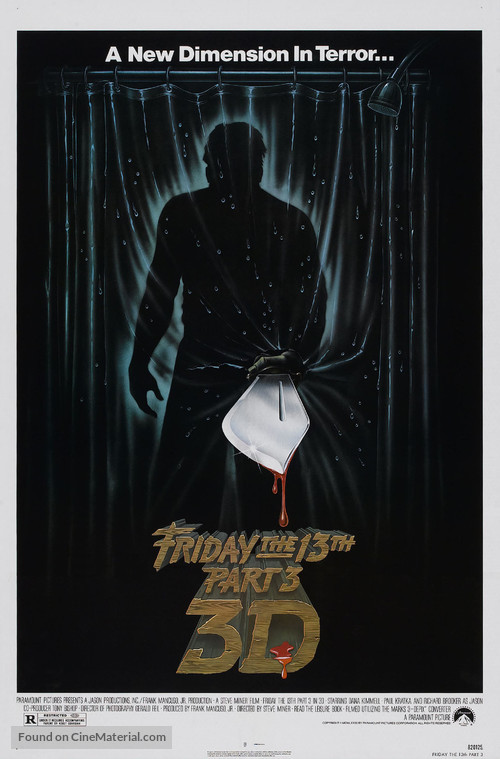 Friday the 13th Part III - Movie Poster