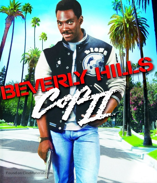 Beverly Hills Cop 2 - Blu-Ray movie cover