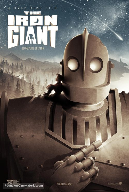 The Iron Giant - Re-release poster