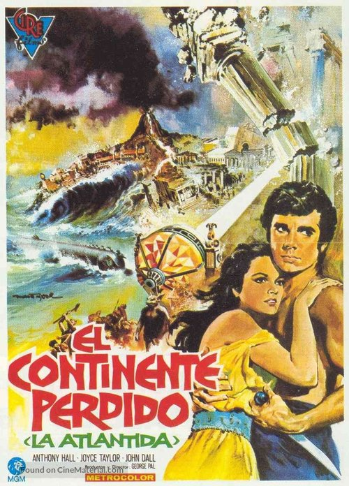 Atlantis, the Lost Continent - Spanish Movie Poster