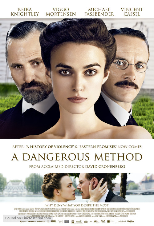 A Dangerous Method Danish movie poster A Dangerous Method Poster