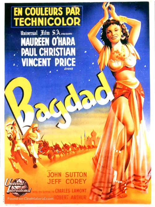 Bagdad - French Movie Poster