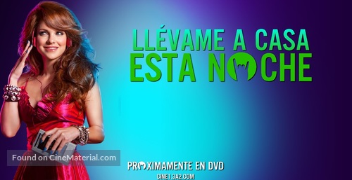 Take Me Home Tonight - Argentinian Movie Poster