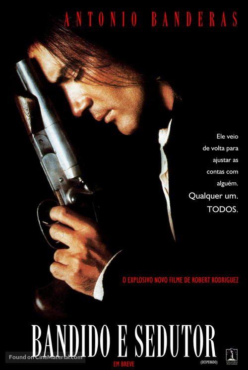 Desperado - Brazilian Movie Poster