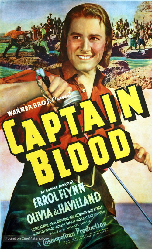 Captain Blood - Movie Poster